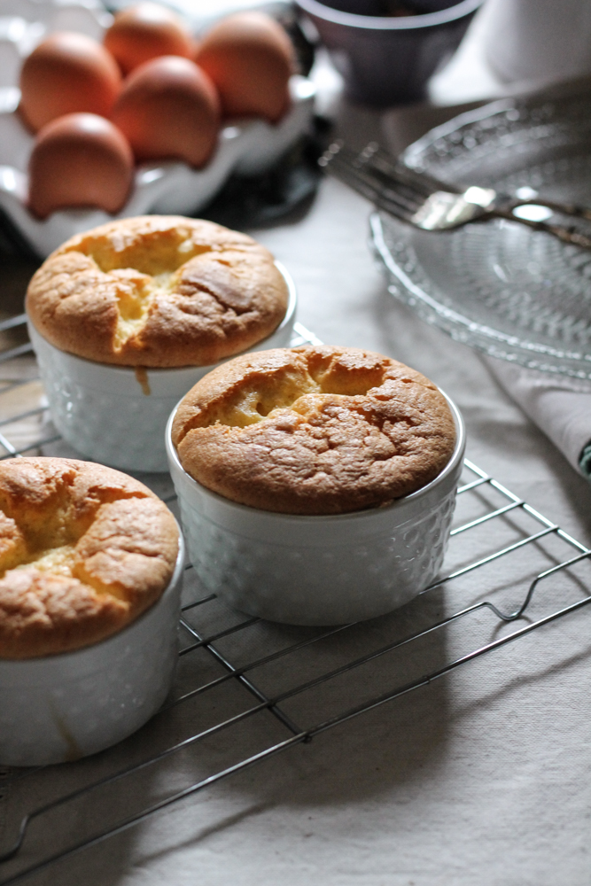 Pineapple & Star Anise Upside Down Chiffon Cakes {Pedantic Foodie}