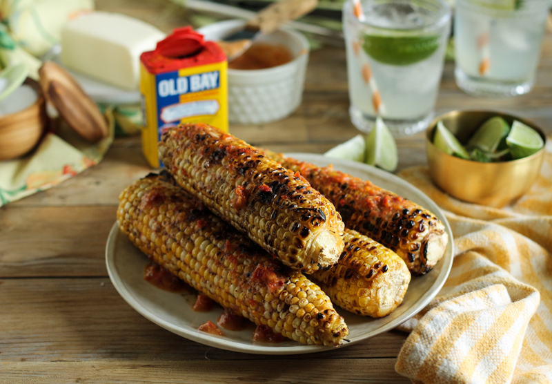 The Bestest Grilled Sweet Corn with Sun-Dried Tomato ButterThe Bestest Grilled Sweet Corn with Sun-Dried Tomato Butter {Pedantic Foodie}