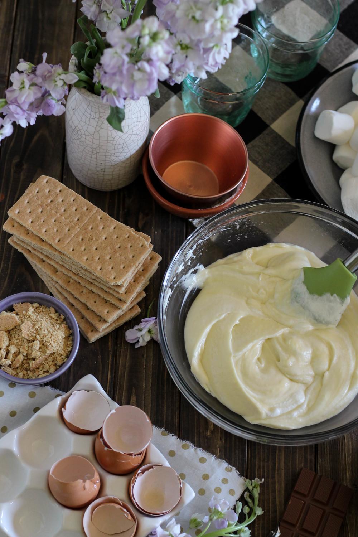 Boston Cream S'mores Trifle {Pedantic Foodie}