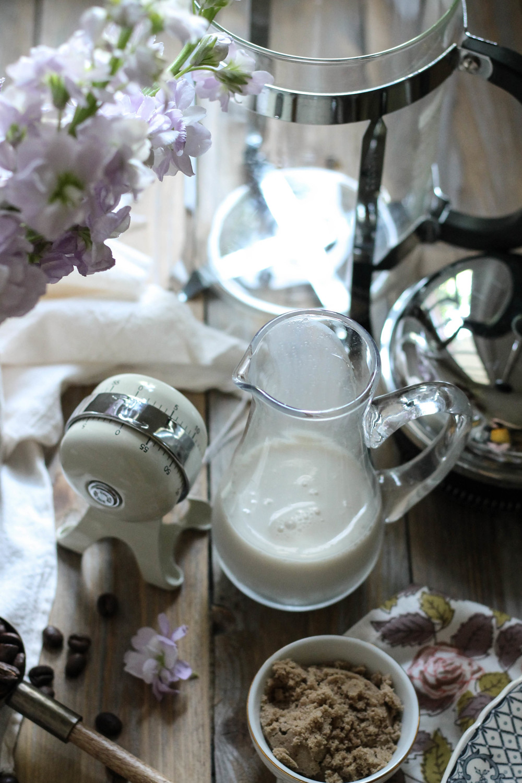 Frozen Coconut Cream & Brown Sugar Latte {Pedantic Foodie}