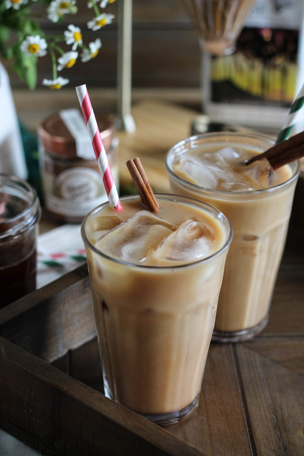 Vanilla Spiced Iced Coffee // World Market + Pedantic Foodie