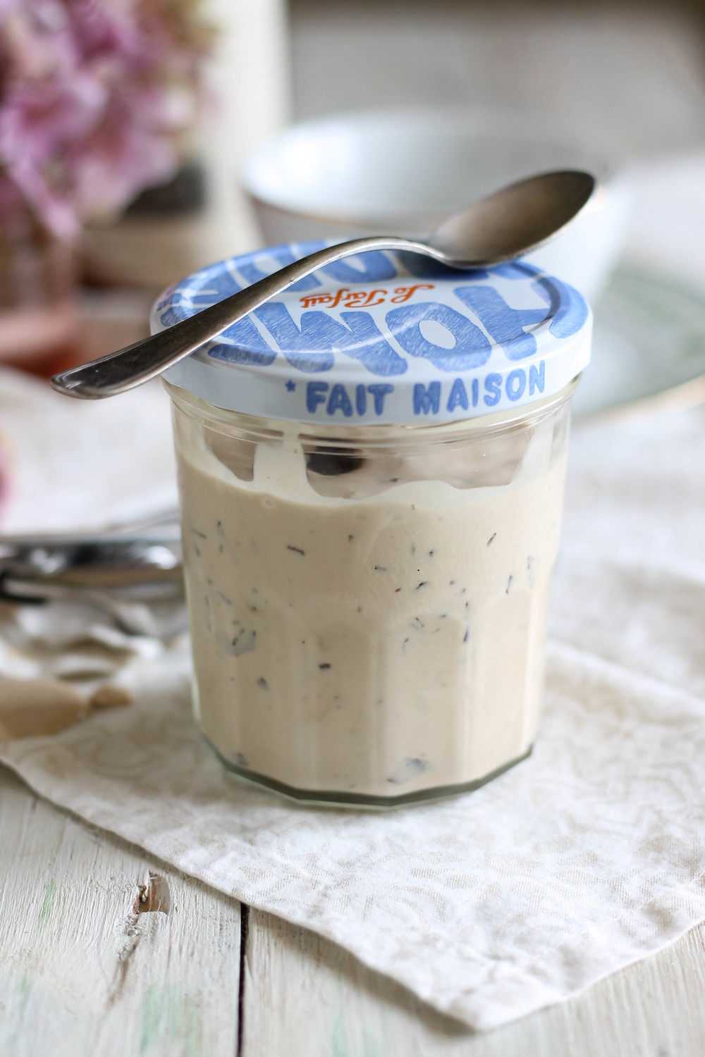 Earl Grey Dark Chocolate Chip Ice Cream {Pedantic Foodie}