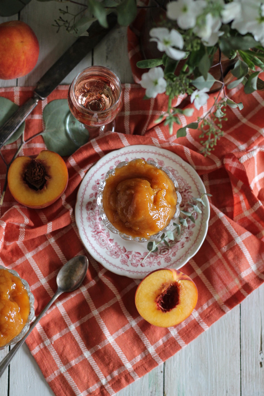 Peach Rosé Sorbet