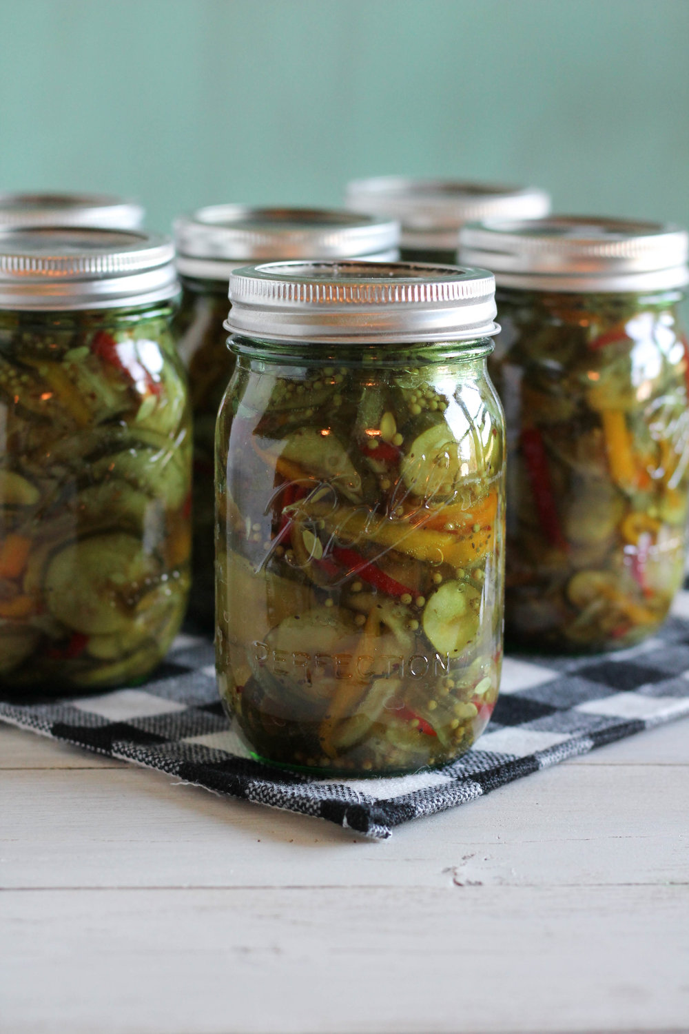 My Favorite Bread & Butter Pickles {Pedantic Foodie}