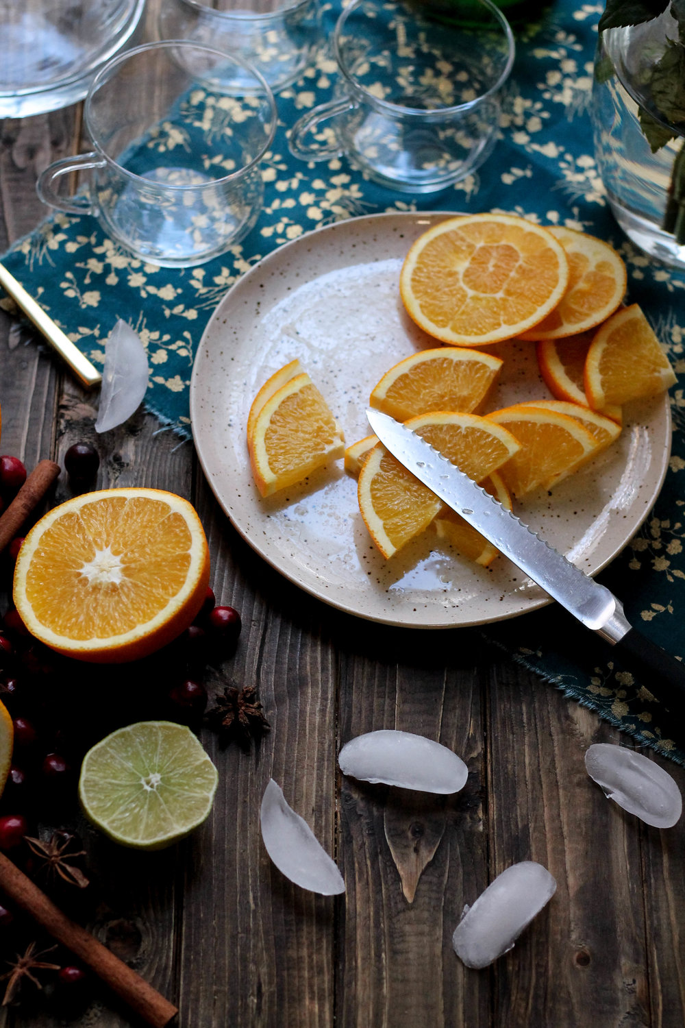 Thanksgiving Punch {Pedantic Foodie}