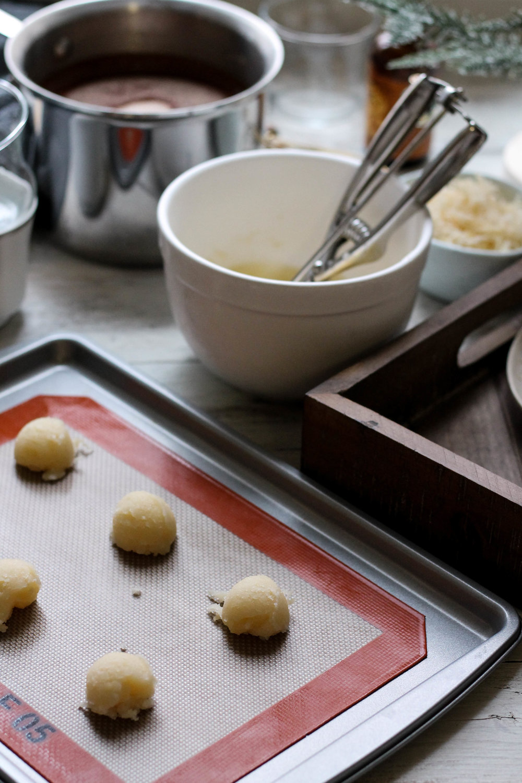 Coconut Cream Hot Cocoa with Coconut Tuiles {Pedantic Foodie}