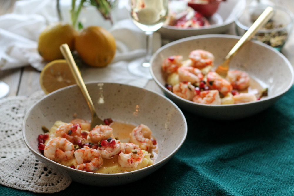Winter Shrimp & Grits {Pedantic Foodie}