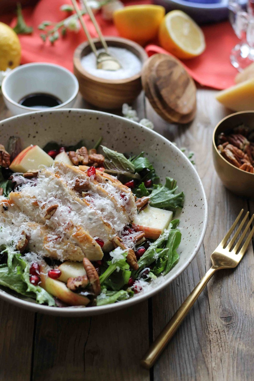 Weeknight Winter Salad {Pedantic Foodie}