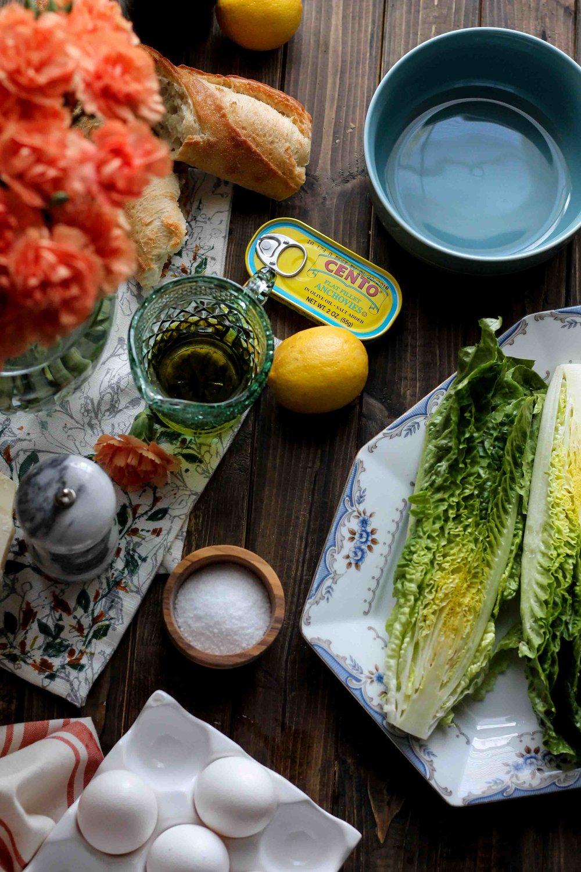 Classic Caesar Salad {Pedantic Foodie}