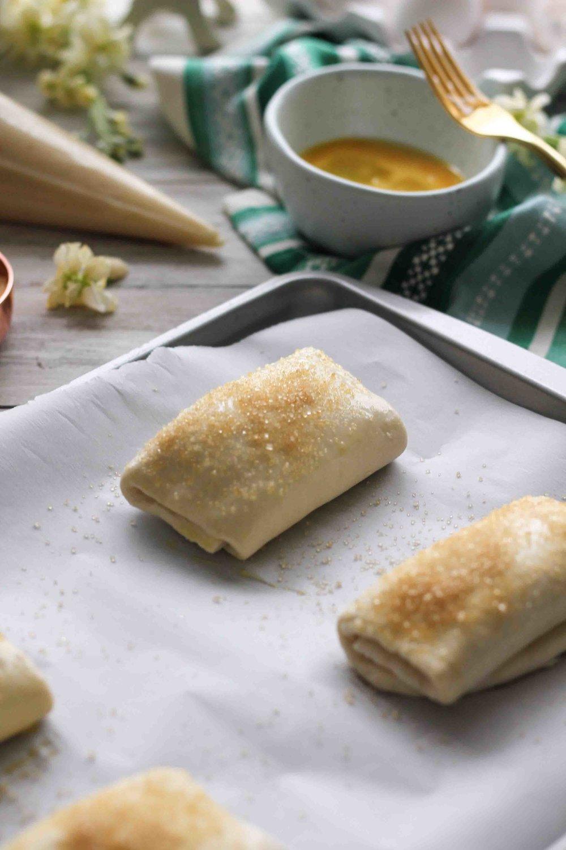 Almond Croissants {Pedantic Foodie}