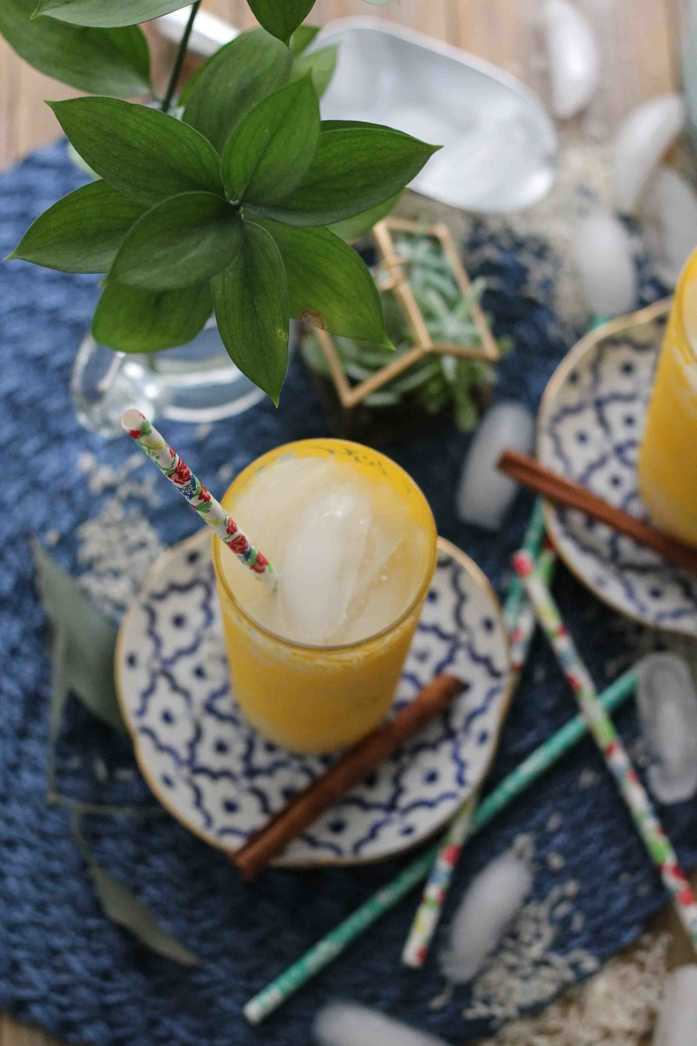 This simple 7-ingredient coconut milk horchata is the perfect way to embrace the warm weather.