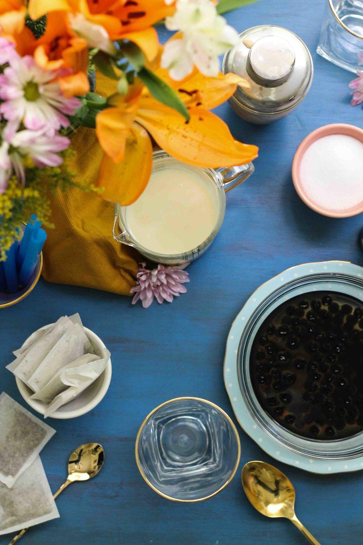 Vanilla Chai Bubble Tea  {Pedantic Foodie}