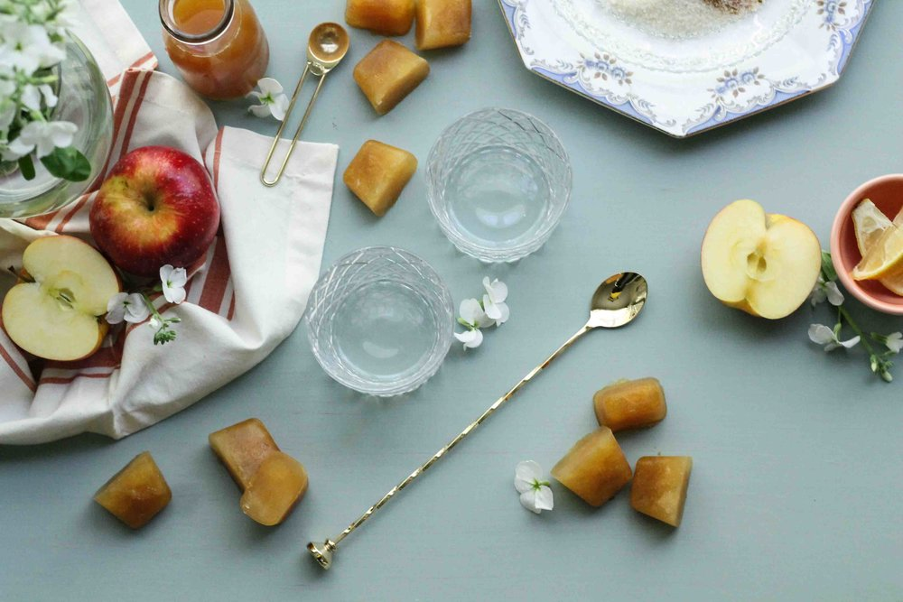 24-7146.jpgThese apple cider slushies are rimmed with spiced sugar, making them the perfect, autumn mocktail! {Pedantic Foodie}