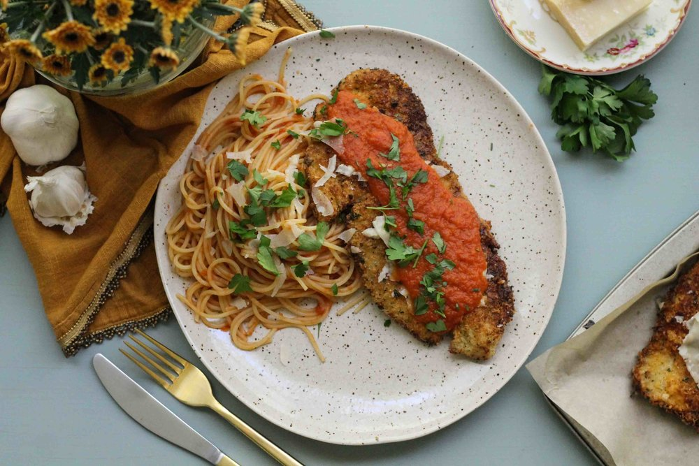 The Very Best Chicken Parmesan {Pedantic Foodie}