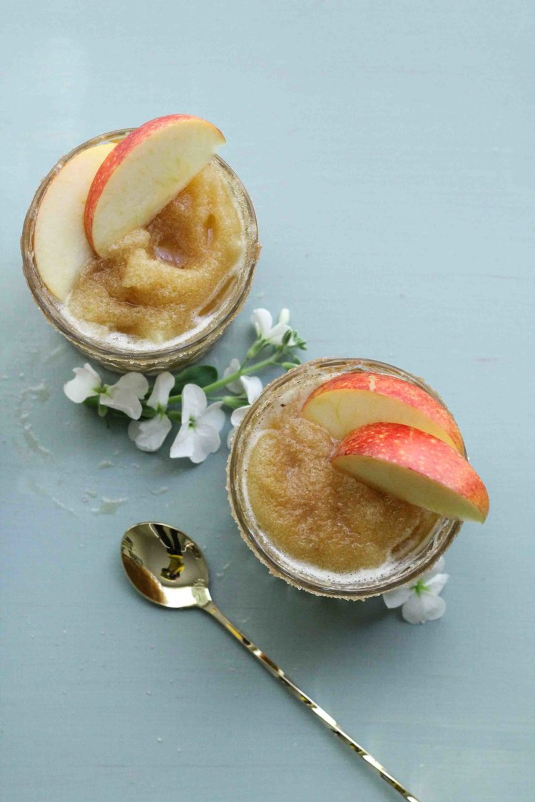 These+apple+cider+slushies+are+rimmed+with+spiced+sugar,+making+them+the+perfect,+autumn+mocktail!+{Pedantic+Foodie}.jpg