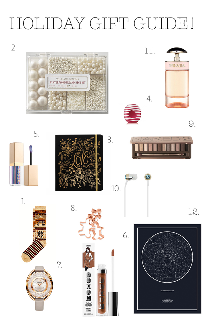 A Holiday Gift Guide {Pedantic Foodie}