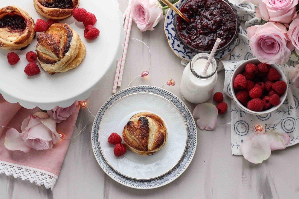 Mini Pies with Cream Cheese & Homemade Red Wine + Cinnamon Raspberry Jam [ www.pedanticfoodie.com ]