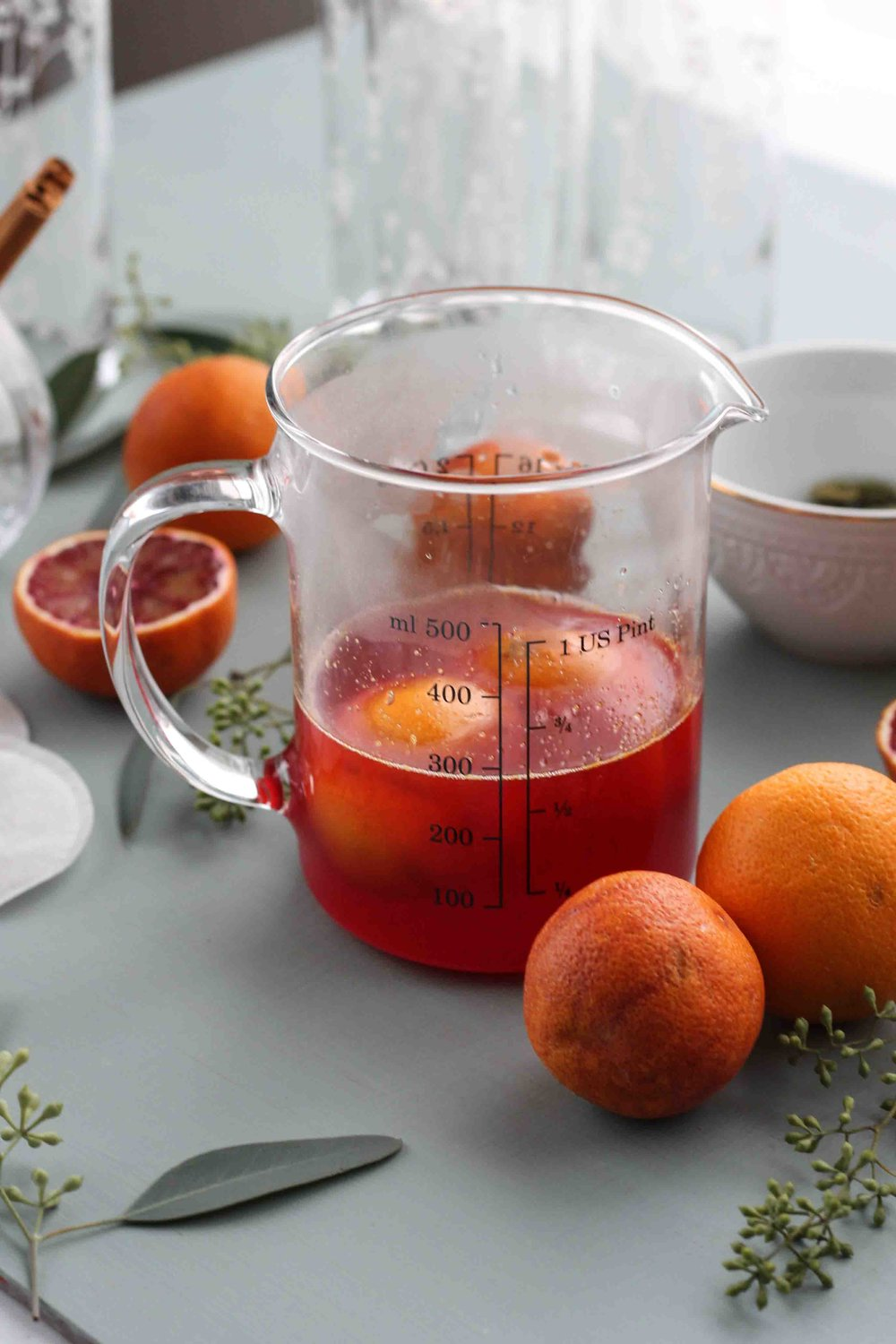 SPARKLING BLOOD ORANGE CHAI [ www.pedanticfoodie.com ]