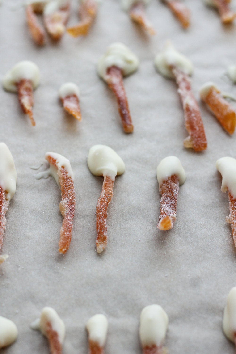 Candied Grapefruit Peels with White Chocolate [ www.pedanticfoodie.com ]