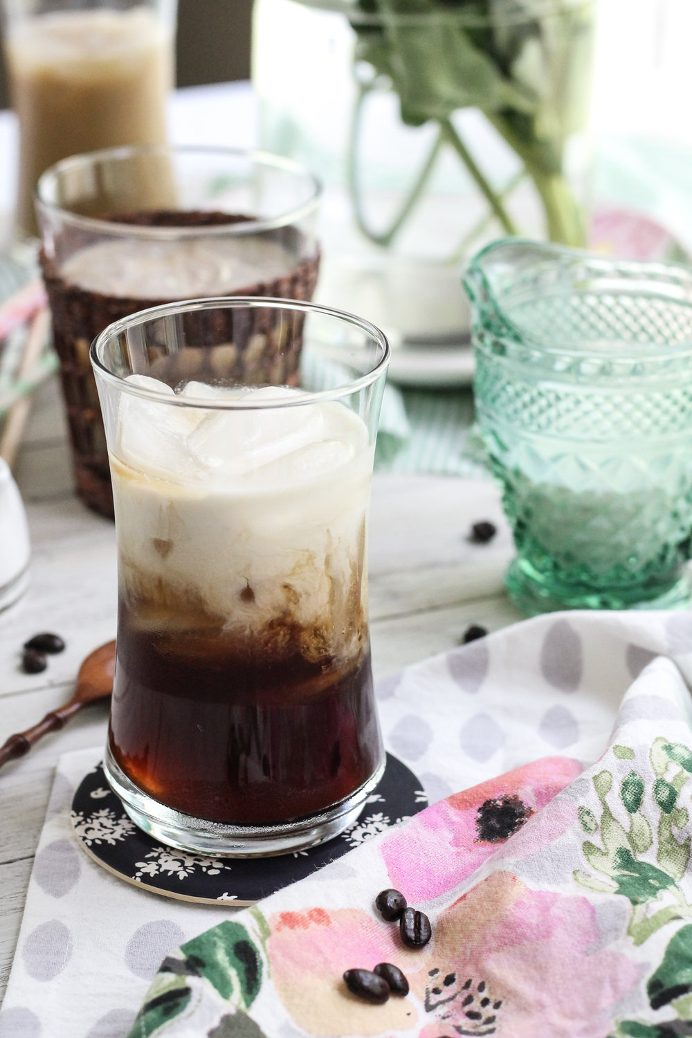 The super simple secrets to making the perfect iced coffee all summer long! [ www.pedanticfoodie.com ]