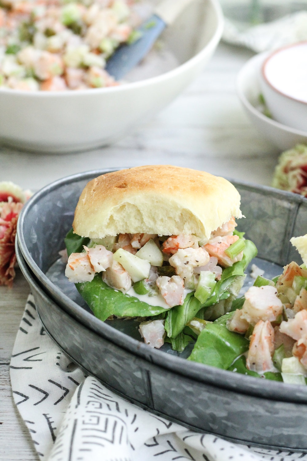 Gaga's Shrimp Salad : A simple, southern favorite from the archives of my grandmother. [ www.pedanticfoodie.com ]