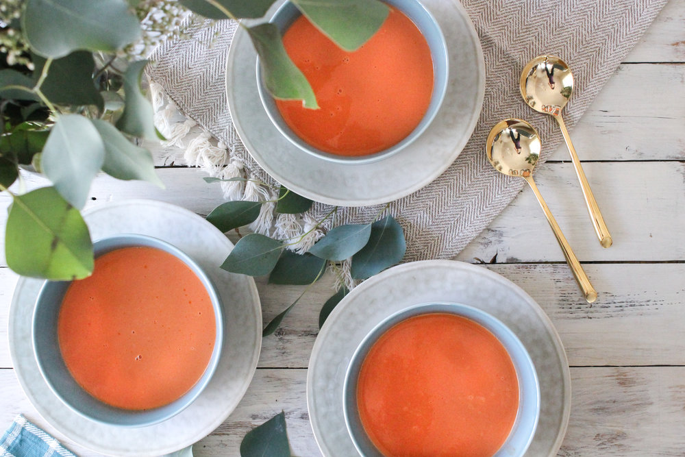 Brown Butter Tomato Bisque makes the perfect weeknight meal! [ www.pedanticfoodie.com ]