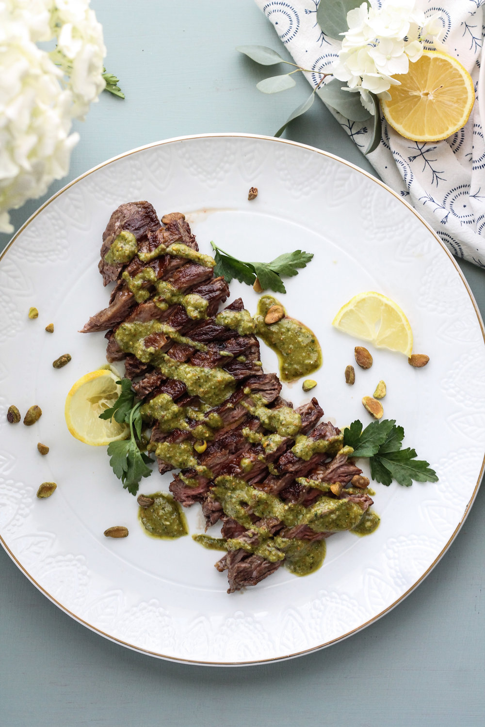 SKIRT+STEAK+WITH+LEMON+PISTACHIO+GREMOLATA+[+www.pedanticfoodie.jpg