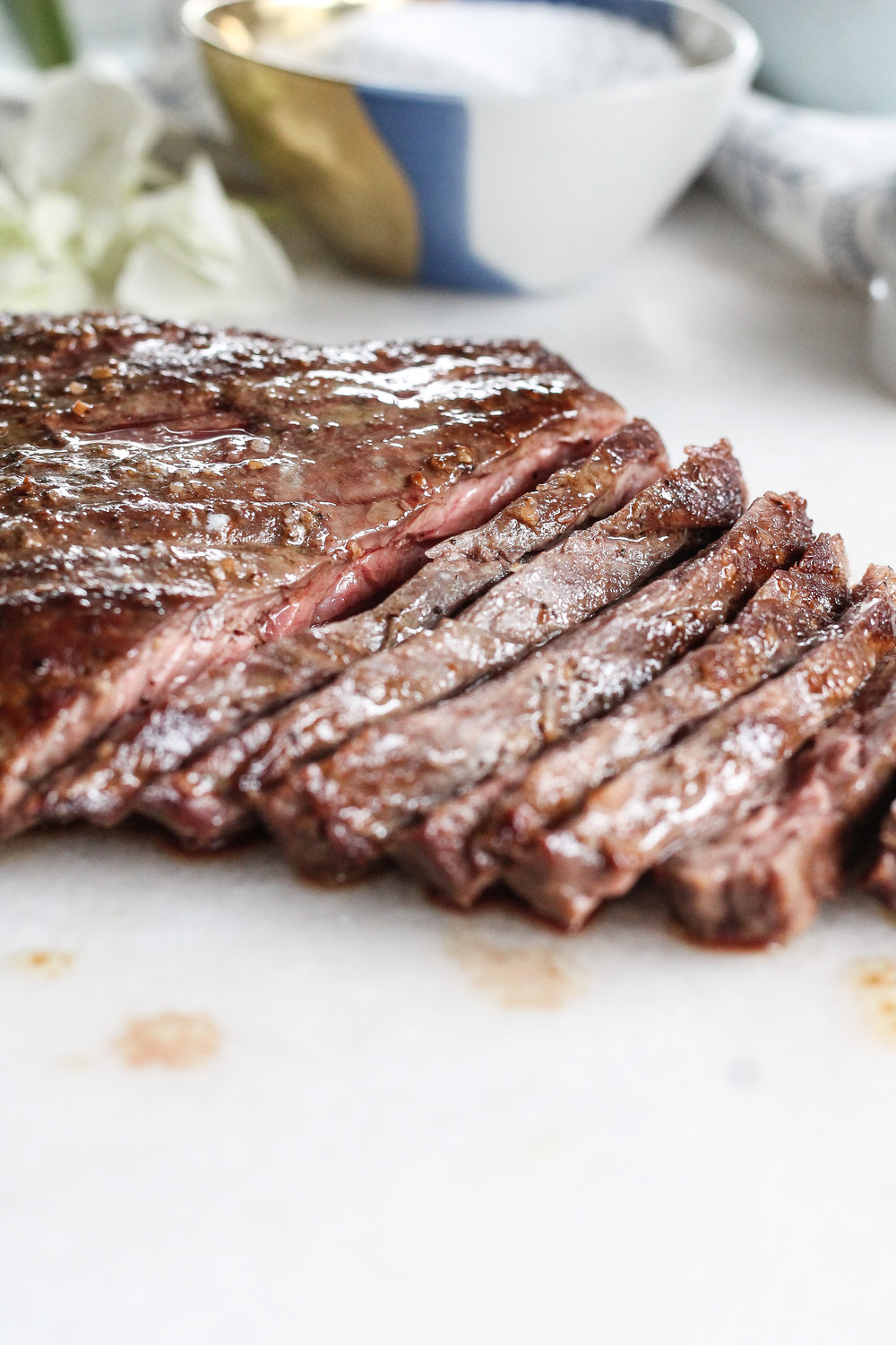 This super simple method is the fool-proof road to turning simple and affordable skirt steak into a restaurant-style dinner.  Find the recipe at www.pedanticfoodie.com.