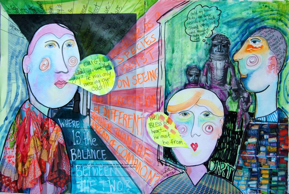 Mixed Media Art Journal  http://ardithsart.blogspot.com/2013/05/why-need-art-journal-page.html