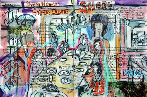 Mixed Media Art Journal  http://ardithsart.blogspot.com/2013/05/hannah-hoch-and-mixed-media-may-art.html