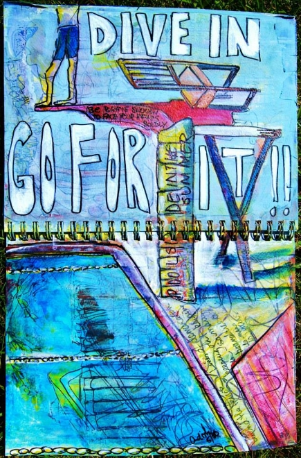 Mixed Media Art Journal  http://ardithsart.blogspot.com/2013/05/its-all-in-how-you-look-at-it-art.html