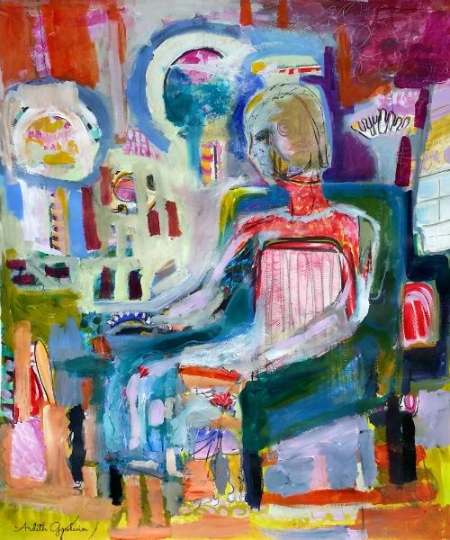 He Ponders, He Dreams by Ardith Goodwin