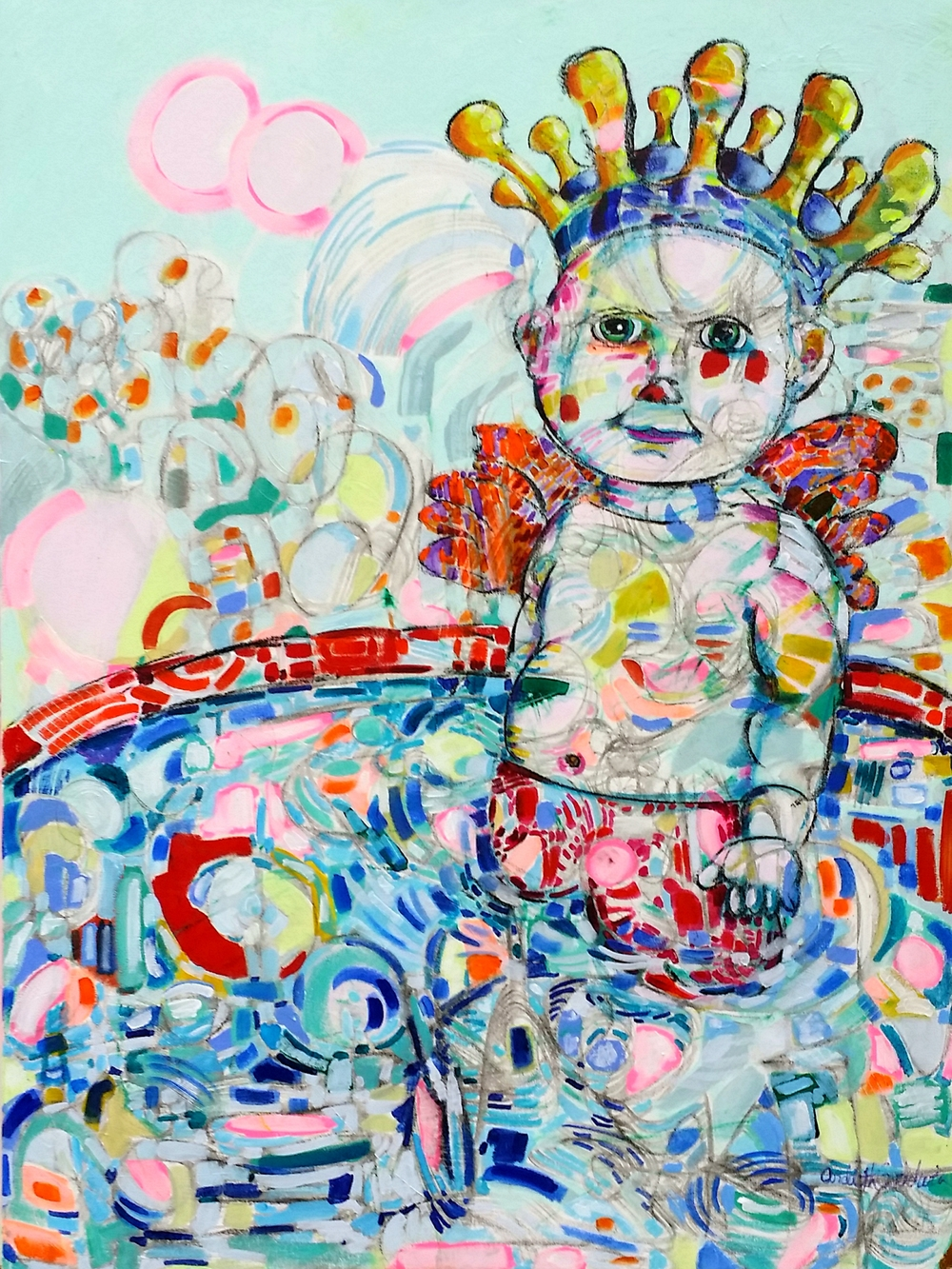 King BabyBaby III by Ardith Goodwin