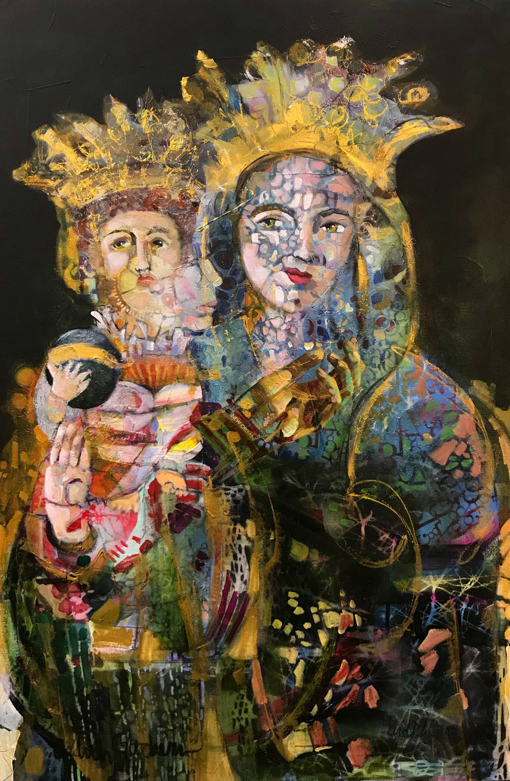 Madonna and Child by Ardith Goodwin