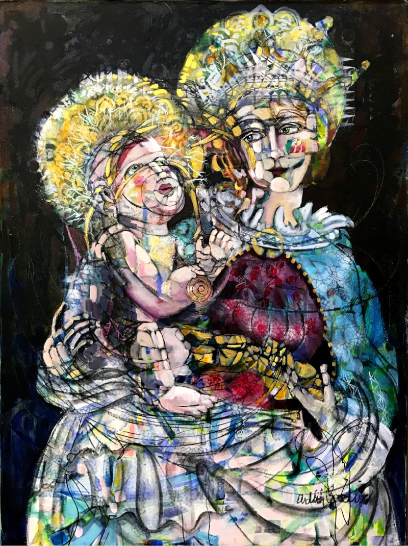 Madonna and Child II by Ardith Goodwin