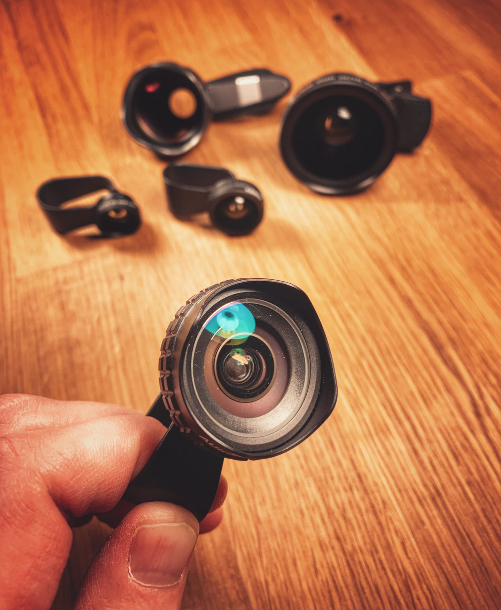 Smartphone clip-on lenses can be a great cost-effective way to up your smartphone photography game.