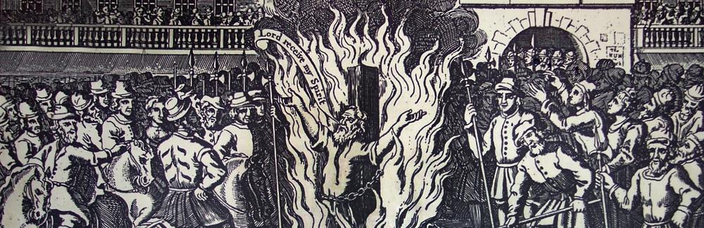 The burning of John Rogers, 1555