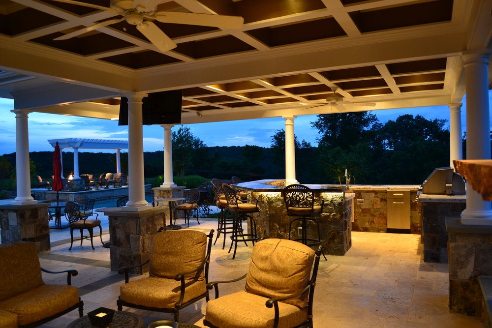 Decks and Raised Terrace