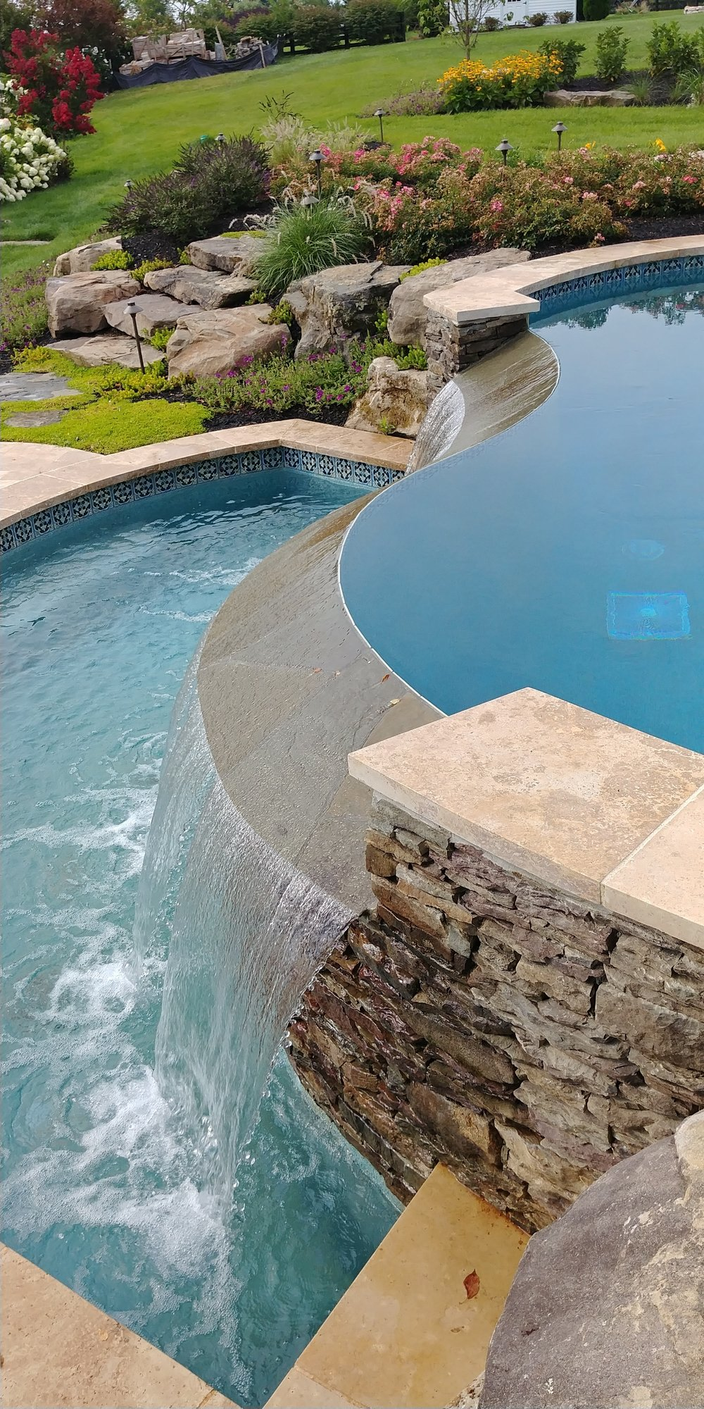 Infinity Edge Pools and Spas