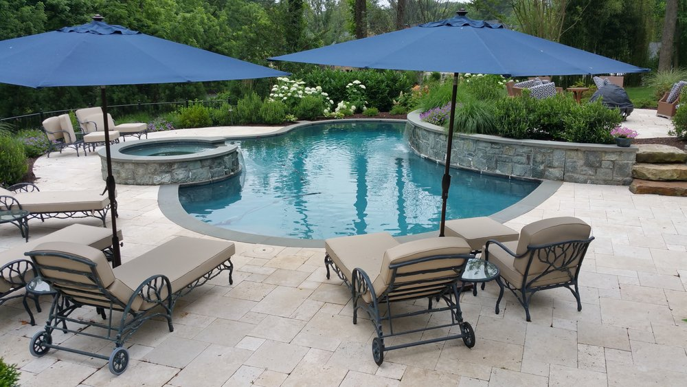 Colao & Peter Outdoor Environments Custom Pools