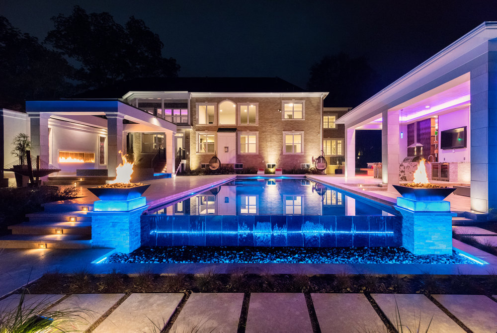 Mclean Modern Pool Design
