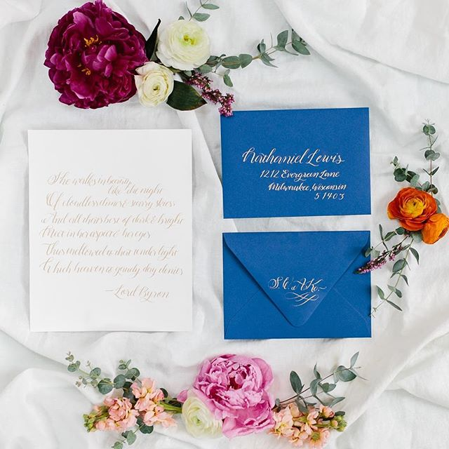 I hope you had a Valentines Day filled with love! 💗✨ #doorcountywedding #doorcountywisconsin #modernwedding #modernbride #custominvites #moderncalligraphy #weddinginspo  Florals @blossomsflowerhouse  Photography @andreanaylorphotography