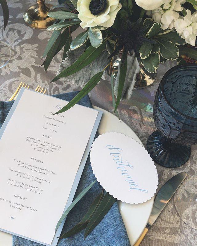Fine dining ✨🥂 @brit.homestead @relaxeventplanning @emily.b.photography @charlies_on_main @monirose @be_inspired_salon @haileys_sweets_treats @alison_howell_  #madisonwi #modernbride #madisonwisconsin #modernwedding #moderncalligraphy #weddinginspo #weddingplanning #custominvitations #doorcountywedding #doorcountywisconsin #wisconsinbride #wisconsinwedding #weddingplanning