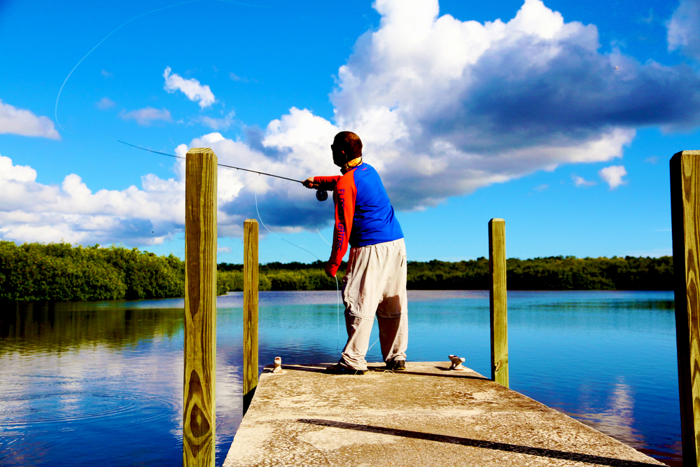 Trey Dyer Fishing the Backwaters of Florida