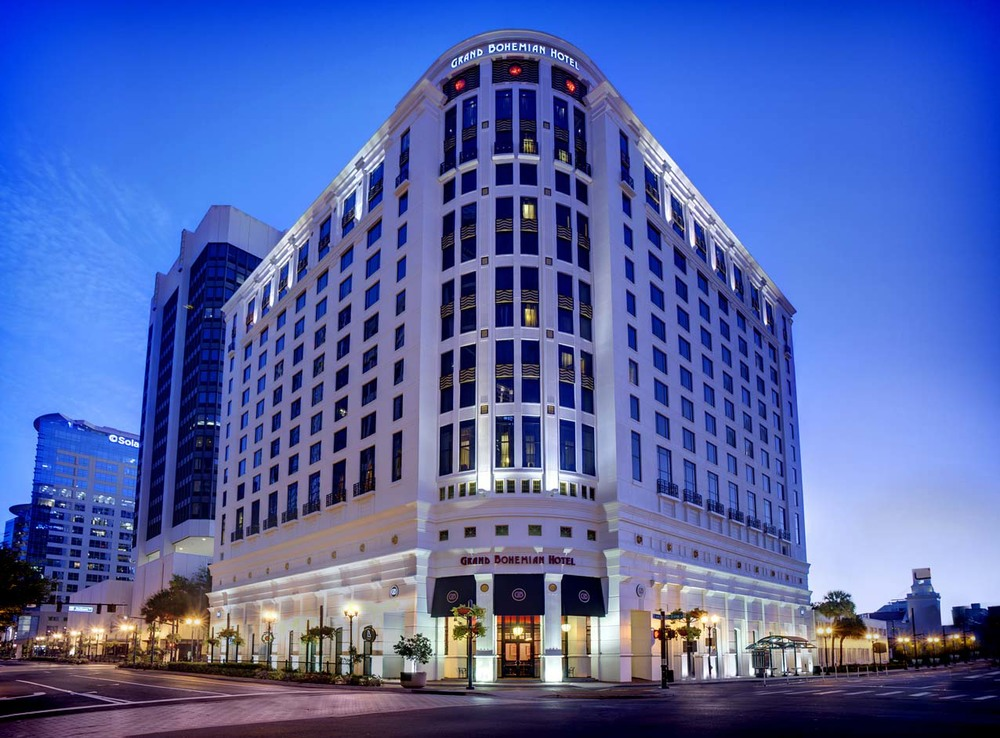 The Grand Bohemian in Downtown Orlando (Photo Credit:  www.grandbohemianhotel.com/