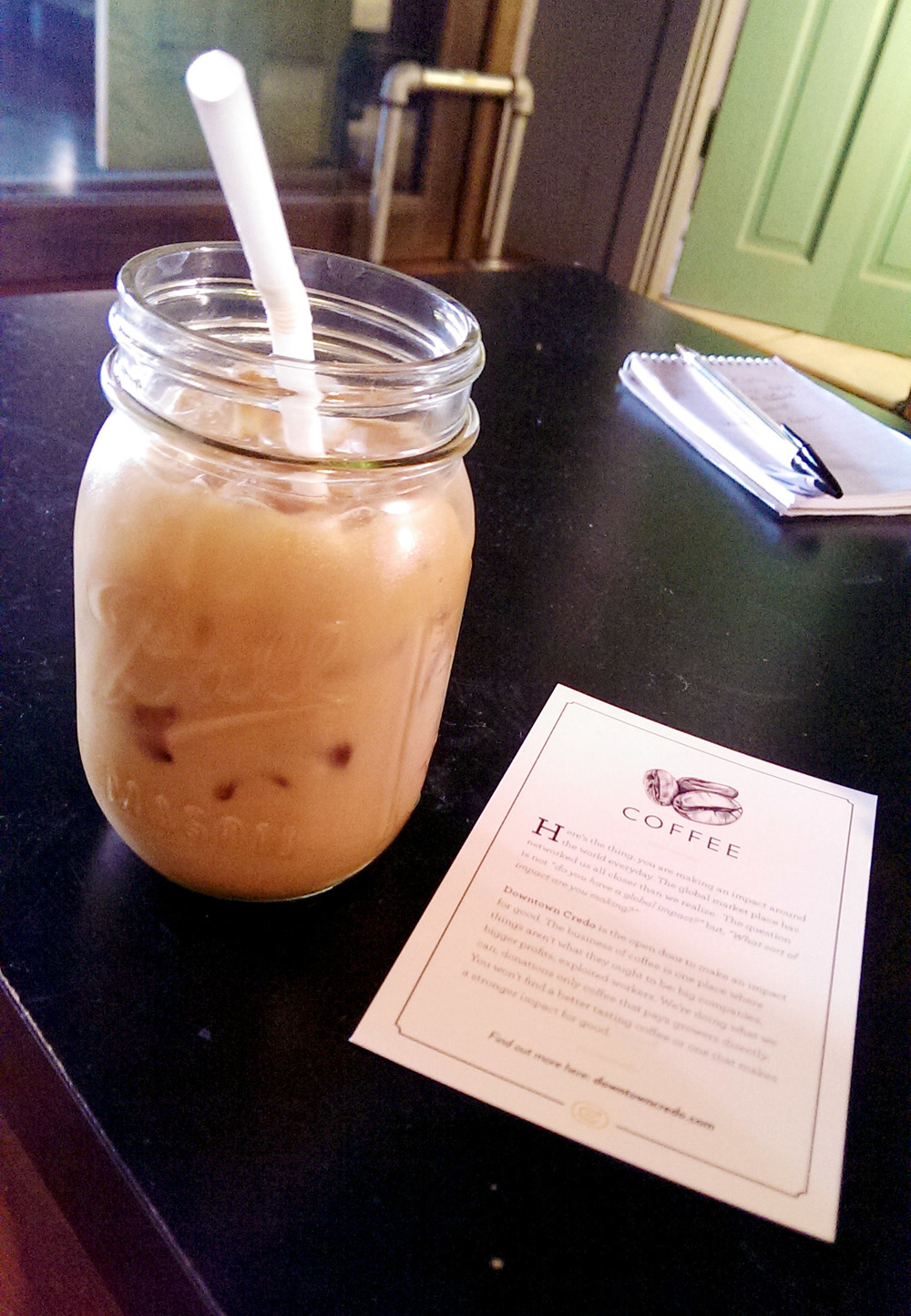 My Iced Coffee at Credo