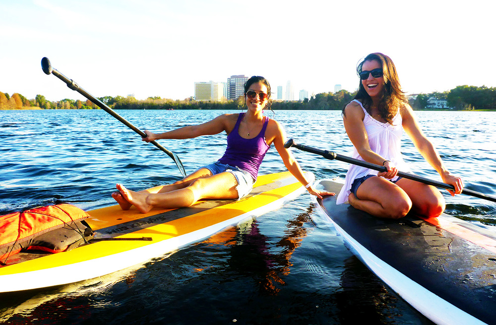 Paddleboarding Is Best With Friends