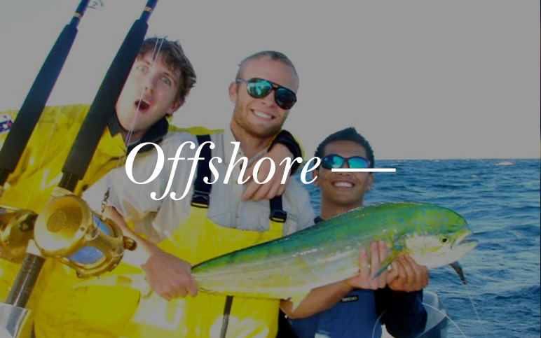 Grab some buddies and a few brews, it's time to go offshore. Launching from Cape Canaveral, you will have the opportunity to catch Shark, Mahi, Wahoo, and many more prize fish.