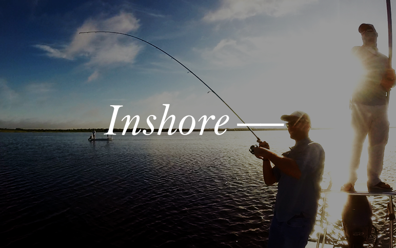 Creep through the saltwater flats of Mosquito Lagoon. You will target trophy Redfish, Trout, and Tarpon on this stealthy fishing charter.