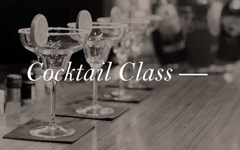 Do you strive to be a cocktail master? Well even if you don't, it's nice to impress your friends here and there with your endless sophistication. Check out our cocktail classes to learn how to mix up some fresh aperitifs.